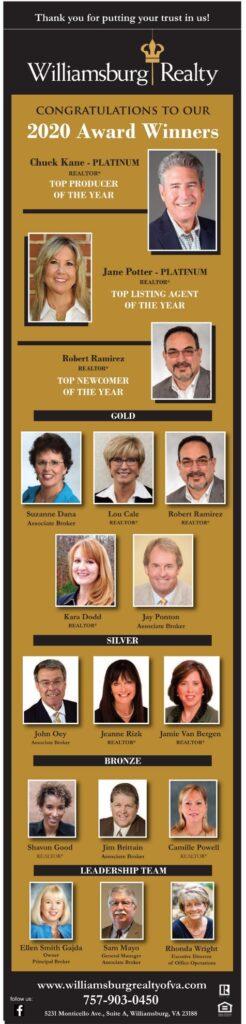 2020 Outstanding Sales Associates