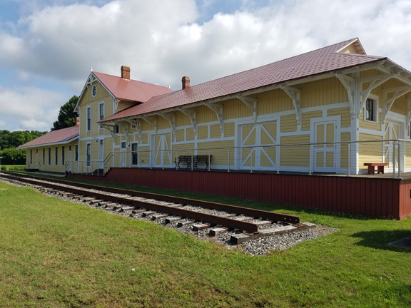 Railroad Depot Restored, Opens as a Museum in Lee Hall